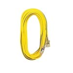 Voltec SJTW Yellow/Blue Extension Cord 25 Ft Lighted Ends