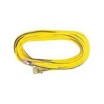 Voltec Extension Cord Vinyl Lighted End 50' 12/3 Sjtw Yellow
