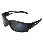 Edge GTSK21-G15-7 Kazbek Polarized - Black / G-15 Silver Mirror Lens with Gasket