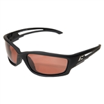 "Edge GTSK215 Kazbek Polarized - Black / Copper ""Driving"" Lens with Gasket"