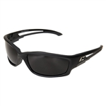 Edge GTSK216 Kazbek Polarized - Black / Smoke Lens with Gasket