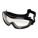 Edge HG111 Golan Low Profile Vented Goggle / Clear Lens