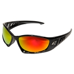 Edge SBAP119 Baretti - Black / Aqua Precision Red Mirror Lens