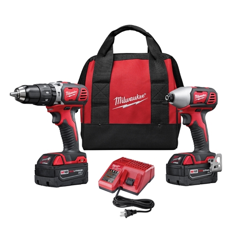 Milwaukee 2697-22 M18 Cordless Lithium-Ion 2 Tool Combo Kit