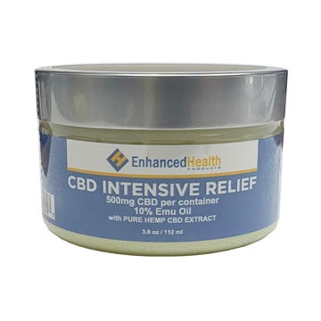 Enhanced Health CBD Pain Rub with Emu Oil (500mg)