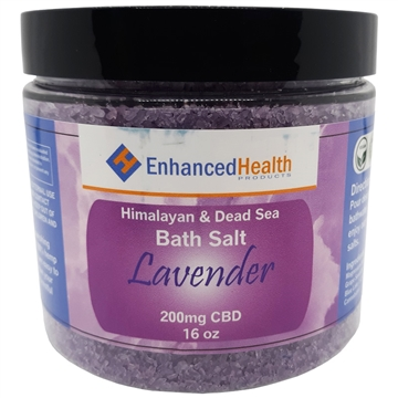 Lavender CBD Bath Salt Soak