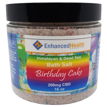 Birthday Cake CBD Bath Salt Soak