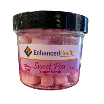 Sugar Scrub Sweet Pea 250MG CBD