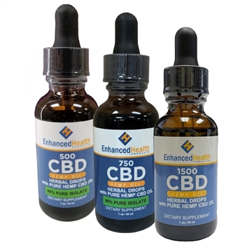 Enhanced Health CBD Isolate Oil Drops