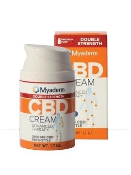 Myaderm Double Strength CBD Advanced Therapy Cream: 1.7 oz