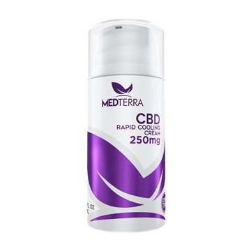 MedTerra CBD Topical Cooling Cream 250mg