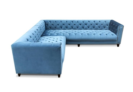 Kimmy Tufted Sectional | Tufted Furniture Online