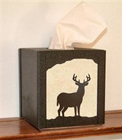 Facial Tissue Box Cover - Deer Design