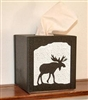 Facial Tissue Box Cover - Moose Design