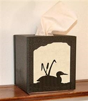 Facial Tissue Box Cover - Loon Design