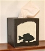 Facial Tissue Box Cover - Panfish Design