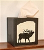 Facial Tissue Box Cover - Elk Design