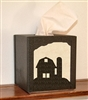 Facial Tissue Box Cover - Barn Design