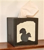 Facial Tissue Box Cover - Squirrel Design