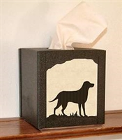 Facial Tissue Box Cover - Lab Retriever Design