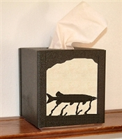 Facial Tissue Box Cover - Muskie Design