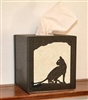 Facial Tissue Box Cover - House Cat  Design