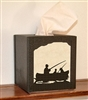 Facial Tissue Box Cover - Fisherman Design