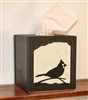 Facial Tissue Box Cover - Cardinal Design