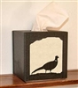 Facial Tissue Box Cover - Pheasant Design