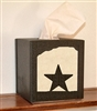 Facial Tissue Box Cover - Star Design
