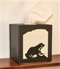 Facial Tissue Box Cover - Frog Design