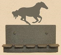 Wall Mounted Toothbrush Holder- Galloping Horse Design