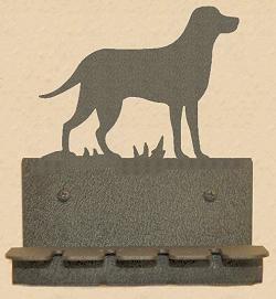 Wall Mounted Toothbrush Holder- Lab Retriever Design