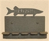 Wall Mounted Toothbrush Holder- Muskie Design
