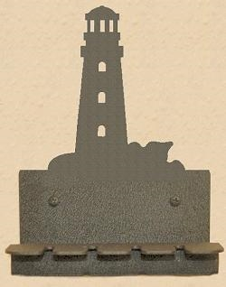 Wall Mounted Toothbrush Holder- Lighthouse Design