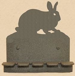 Wall Mounted Toothbrush Holder- Rabbit Design