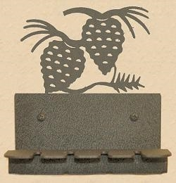 Wall Mounted Toothbrush Holder- Pinecone Design