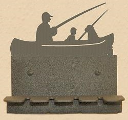 Wall Mounted Toothbrush Holder- Fisherman Design