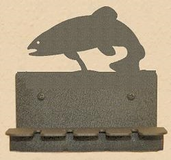 Wall Mounted Toothbrush Holder- Trout Design