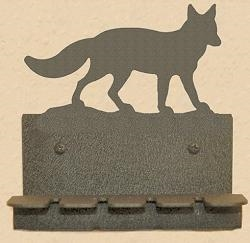 Wall Mounted Toothbrush Holder- Fox Design