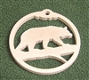 Wildlife Christmas Tree Ornament- Bear Design