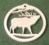 Wildlife Christmas Tree Ornament- Elk Design