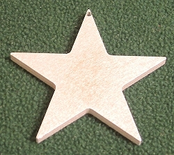 Wildlife Christmas Tree Ornament- Star Design