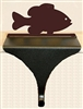 Wildlife Christmas Stocking Mantle Hook- Panfish Design