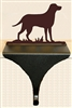 Wildlife Christmas Stocking Mantle Hook- Lab Retriever Design