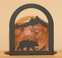 Arched Candle Holder - Bear Design