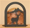 Arched Candle Holder - Deer Design