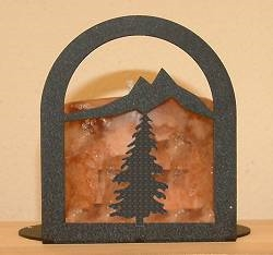 Arched Candle Holder - Tree Design
