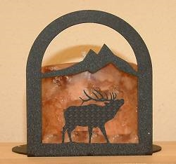 Arched Candle Holder - Elk Design