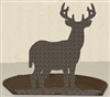 Silhouette Candle Holder - Deer Design